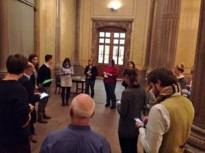 Nicht nur mit einer Bloggerreise, die Degas-Ausstellung in Karlsruhe wurde auch von einem Tweetup begleitet. (Foto: Kulturkonsorten)