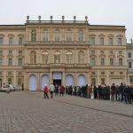 Eine Stunde, bevor man am 21. Januar das Museum Barberini 6 Stunden bei freiem Eintritt lang sehen konnte.Eine Stunde, bevor man am 21. Januar das Museum Barberini 6 Stunden bei freiem Eintritt lang sehen konnte.