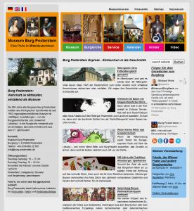 Das Museum Burg Posterstein entschied sich mit seiner neuen Webseite inhaltlich noch stärker als zuvor in die Tiefe zu gehen. Durch Blog und soziale Medien werden Artikel über vergangene Forschungsprojekte und Sonderausstellungen nach Jahren noch gelesen und fördern gleichzeitig den Verkauf museumseigener Publikationen.