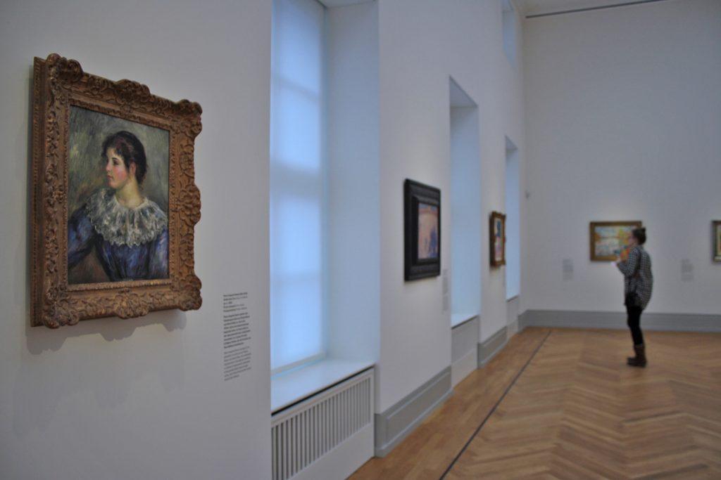 Das neue Museum Barberini - innen und außen ein ganz klassisches Kunstmuseum.