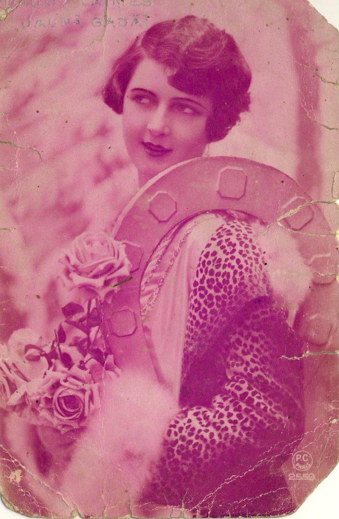 Französische Postkarte (CC0, Europeana)