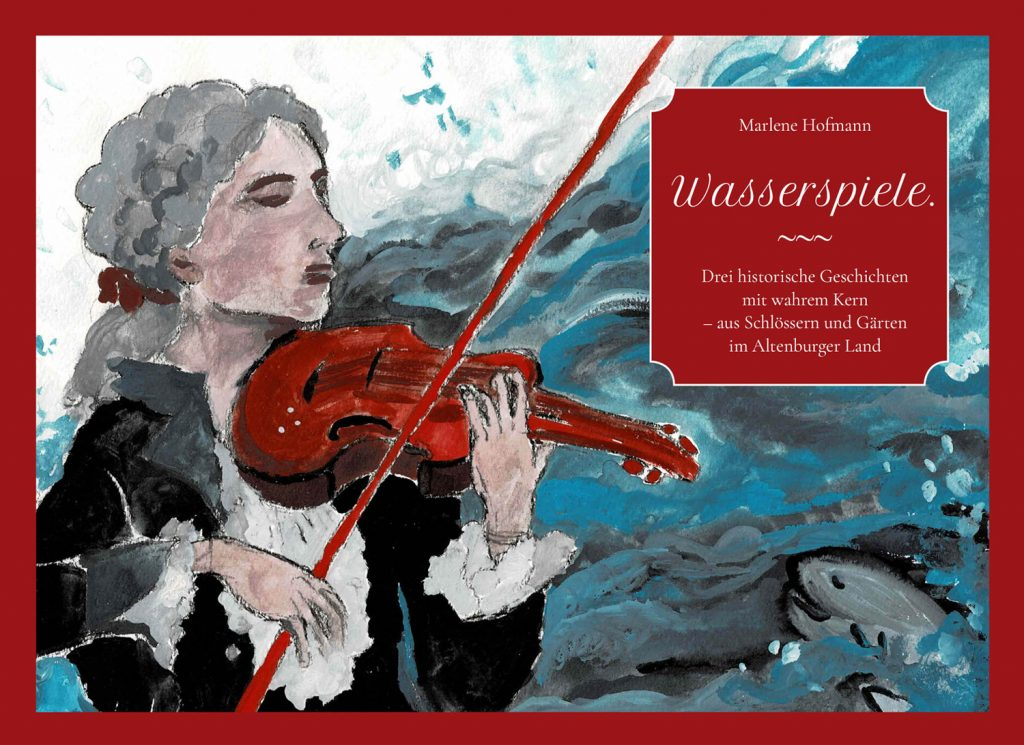 """Cover """"Wasserspiele"""" von Marlene Hofmann"""
