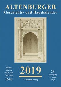 Cover Altenburger Geschichts- und Hauskalender 2019