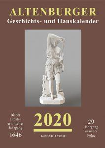 Cover Altenburger Geschichts- und Hauskalender 2020