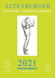 Cover Altenburger Geschichts- und Hauskalender 2021