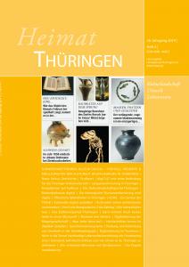 "Cover ""Heimat Thüringen - Kultur digital"""