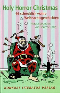 """Buch-Cover """"Holy Horror Christmas"""""""