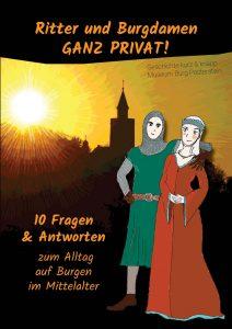 """Cover des Kinderbuchs """"Ritter und Burgdamen ganz privat!"""""""