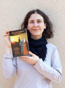 """Marlene Hofmann vom Museum Burg Posterstein mit Kinderbuch """"Ritter und Burgdamen ganz privat!"""""""