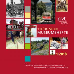 """Cover """"Thüringer Museumshefte 1/2018"""""""