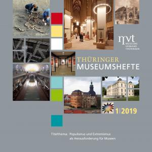 """Cover """"Thüringer Museumshefte 1/2019"""""""