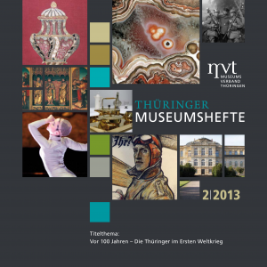 """Cover """"Thüringer Museumshefte 2/2013"""""""